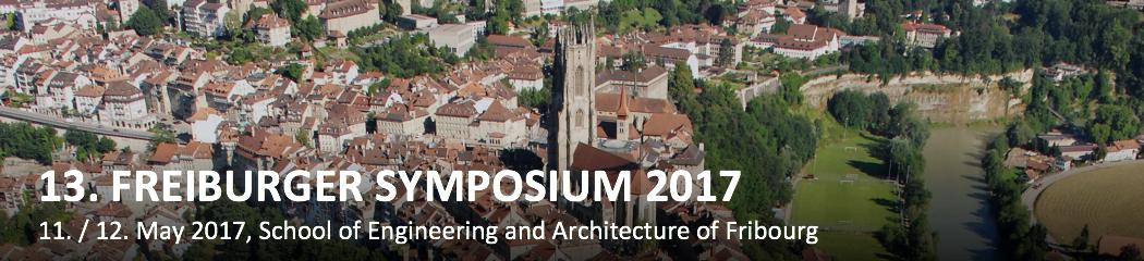 13. Freiburger Symposium 2017